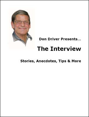 Don Driver Interview by Don Driver