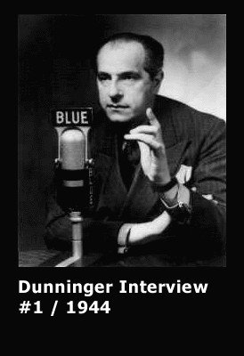 Dunninger Interview #1 by Joseph Dunninger