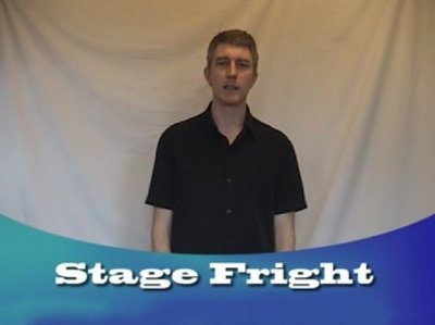 Egotistical Opinions: Stage Fright by Ian Kendall