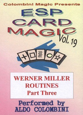 ESP Card Magic Vol. 19: Werner Miller Part 3 by Aldo Colombini