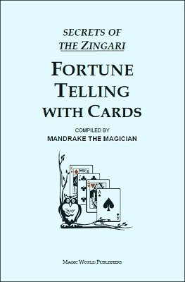 Fortune Telling With Cards Pitch Book Kit by B. W. McCarron
