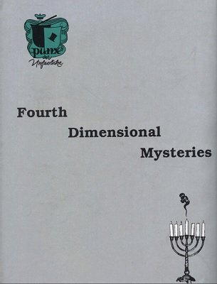 Fourth Dimensional Mysteries by Punx & Bill Palmer MIMC