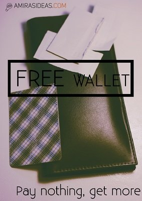 Free Wallet by Pablo Amirá