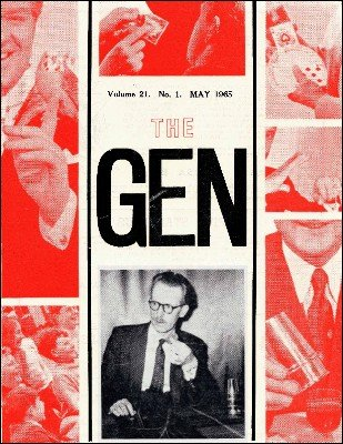 The Gen Volume 21 by Harry Stanley & Lewis Ganson