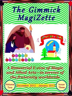 The Gimmick MagiZette: Volume 2, Issue 3 by Solyl Kundu