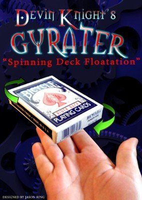 Gyrater: Floating and Spinning Deck by Devin Knight