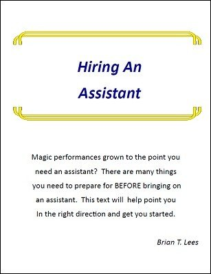 Hiring an Assistant by Brian T. Lees