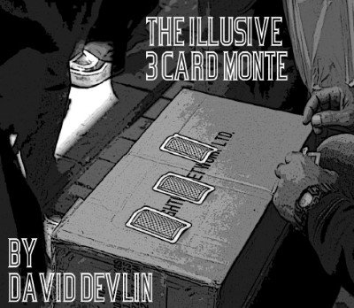 Illusive Three Card Monte by David Devlin