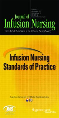 Infusion Nursing Standards of Practice (2011) by Infusion Nurses Society