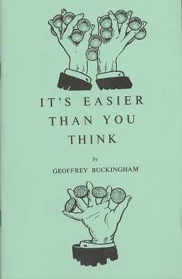 It's Easier Than You Think Volume 1 by Geoffrey Buckingham