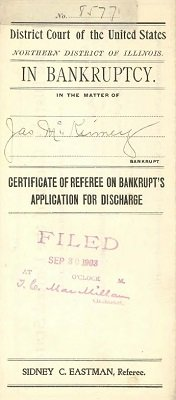 The James McKinney & Co Bankruptcy Files by National Archives (NARA)