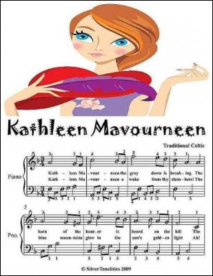Kathleen Mavourneen - Easy Piano Sheet Music Junior Edition by Silver Tonalities