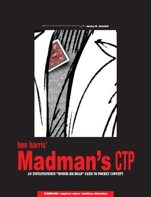 Madman's Card to Pocket by (Benny) Ben Harris