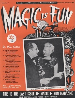 Magic is Fun issue 7 by Irv Feldman & David Robbins