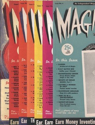 Magic is Fun (all issues) by Irv Feldman & David Robbins