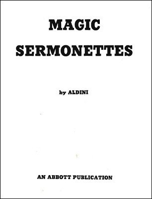 Magic Sermonettes by Aldini