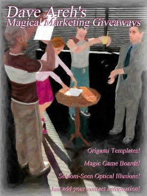 Magical Marketing Giveaways by Dave Arch