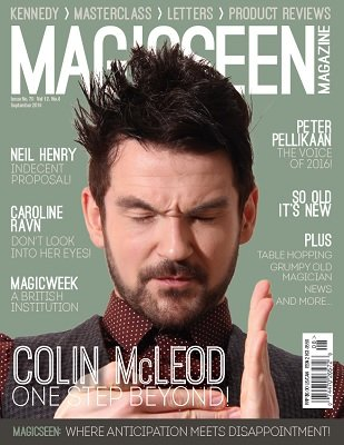 Magicseen No. 70 by Mark Leveridge & Graham Hey & Phil Shaw