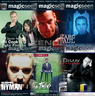 Magicseen (2005) Volume 1 by Mark Leveridge & Graham Hey & Phil Shaw