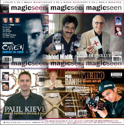 Magicseen (2006) Volume 2 by Mark Leveridge & Graham Hey & Phil Shaw
