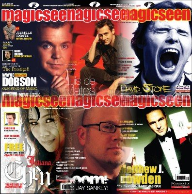 Magicseen (2007) Volume 3 by Mark Leveridge & Graham Hey & Phil Shaw