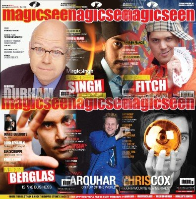 Magicseen (2008) Volume 4 by Mark Leveridge & Graham Hey & Phil Shaw