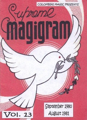Magigram: 10 effects from volume 13 by Aldo Colombini