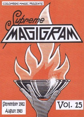 Magigram: 10 effects from volume 15 by Aldo Colombini