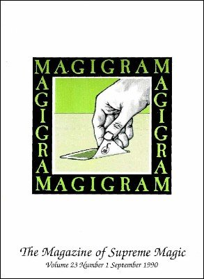 Magigram Volume 23 by Supreme-Magic-Company
