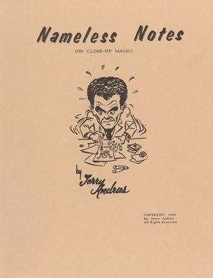 Nameless Notes by Jerry Andrus