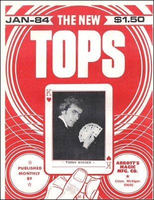 New Tops Volume 24 (1984) by Gordon Miller
