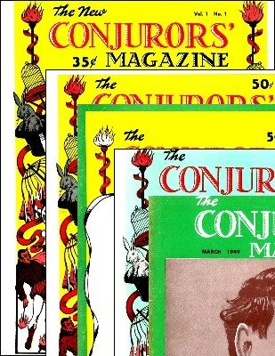 The New Conjurors' Magazine: all volumes by Walter Gibson