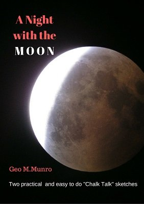 A Night with the Moon by George Munro