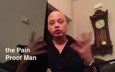 The Pain Proof Man by Scott Xavier