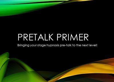 The Pretalk Primer by Jesse Lewis