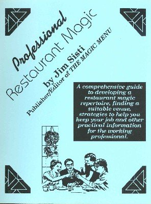Professional Restaurant Magic by Jim Sisti