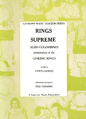 Rings Supreme Teach-In by Lewis Ganson & Aldo Colombini