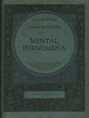 Rupert Howard Magic Course: Lesson 17: Mental Phenomena by Rupert Howard