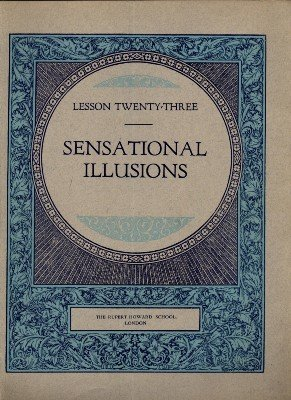 Rupert Howard Magic Course: Lesson 23: Sensational Illusions by Rupert Howard
