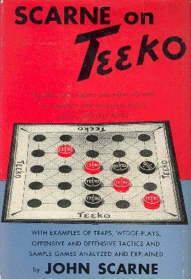 Scarne on Teeko by John Scarne