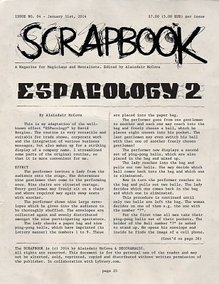 Scrapbook Issue 4 by Alexander de Cova