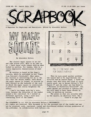 Scrapbook Issue 8 by Alexander de Cova