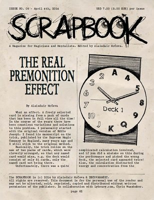 Scrapbook Issue 9 by Alexander de Cova