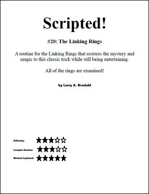 Scripted #20: Linking Rings by Larry Brodahl