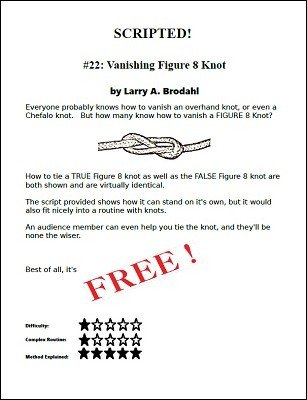 Scripted #22: vanishing figure 8 knot by Larry Brodahl