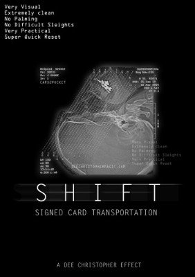Shift - Signed Card Transportation by Dee Christopher