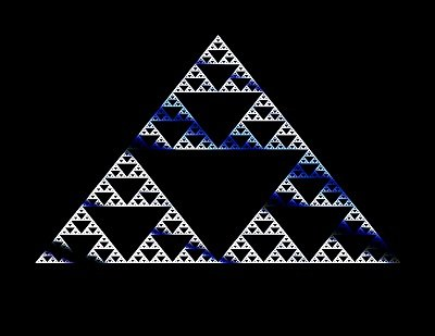 Sierpinski's Peek by Tom Phoenix
