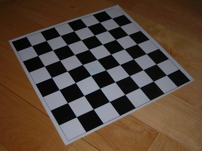 "Small Silicone Chess Board (10"" x 10"") by Lybrary.com"