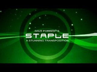 Staple: a stunning transposition by Dave Forrest