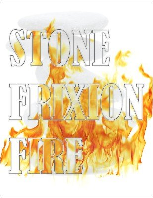 Stone Frixion Fire by Jeff Stone